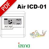 イゼナ水蓄熱システム アクアレイヤー 取扱説明書 AIR Aqua 温風タイプ 水温モニター